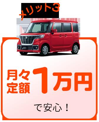 月々定額1万円